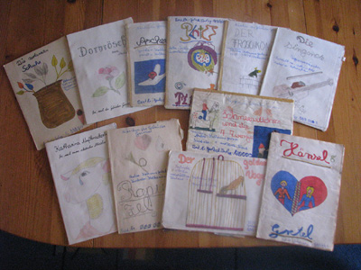 all my little pop-up booklets
