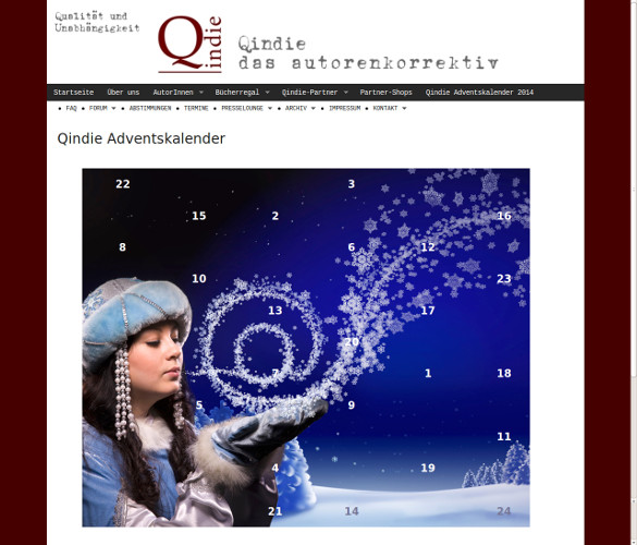 Qindie Adventskalender